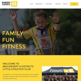 Little Athletics Website