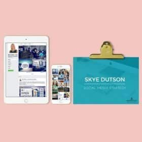 Skye Dutson Social Media Strategy
